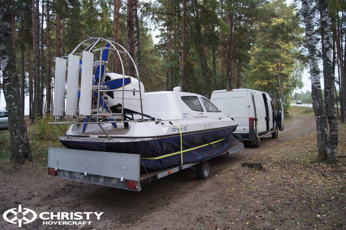 Обновленный катер на воздушной подушке Christy 6183 - Лучшие фото | фото №27