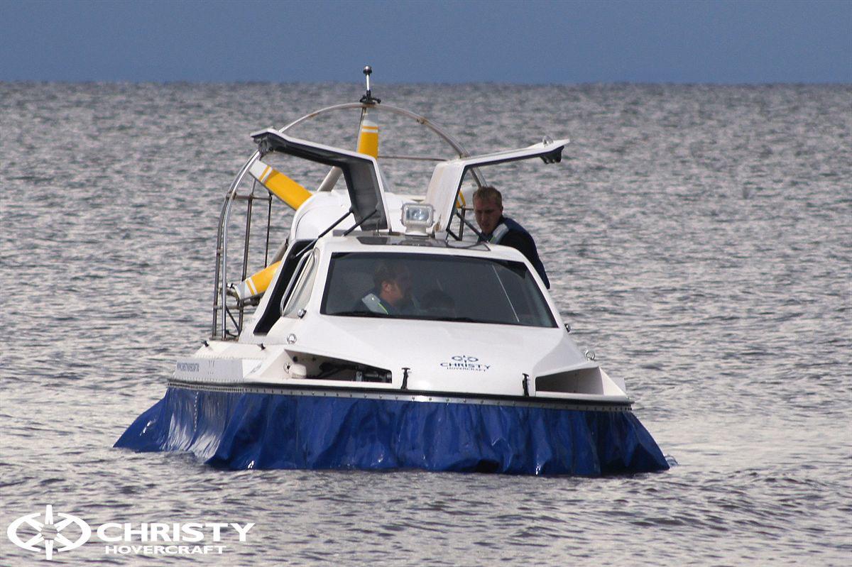 Обновленный катер на воздушной подушке Christy 6183 - Лучшие фото | фото №37