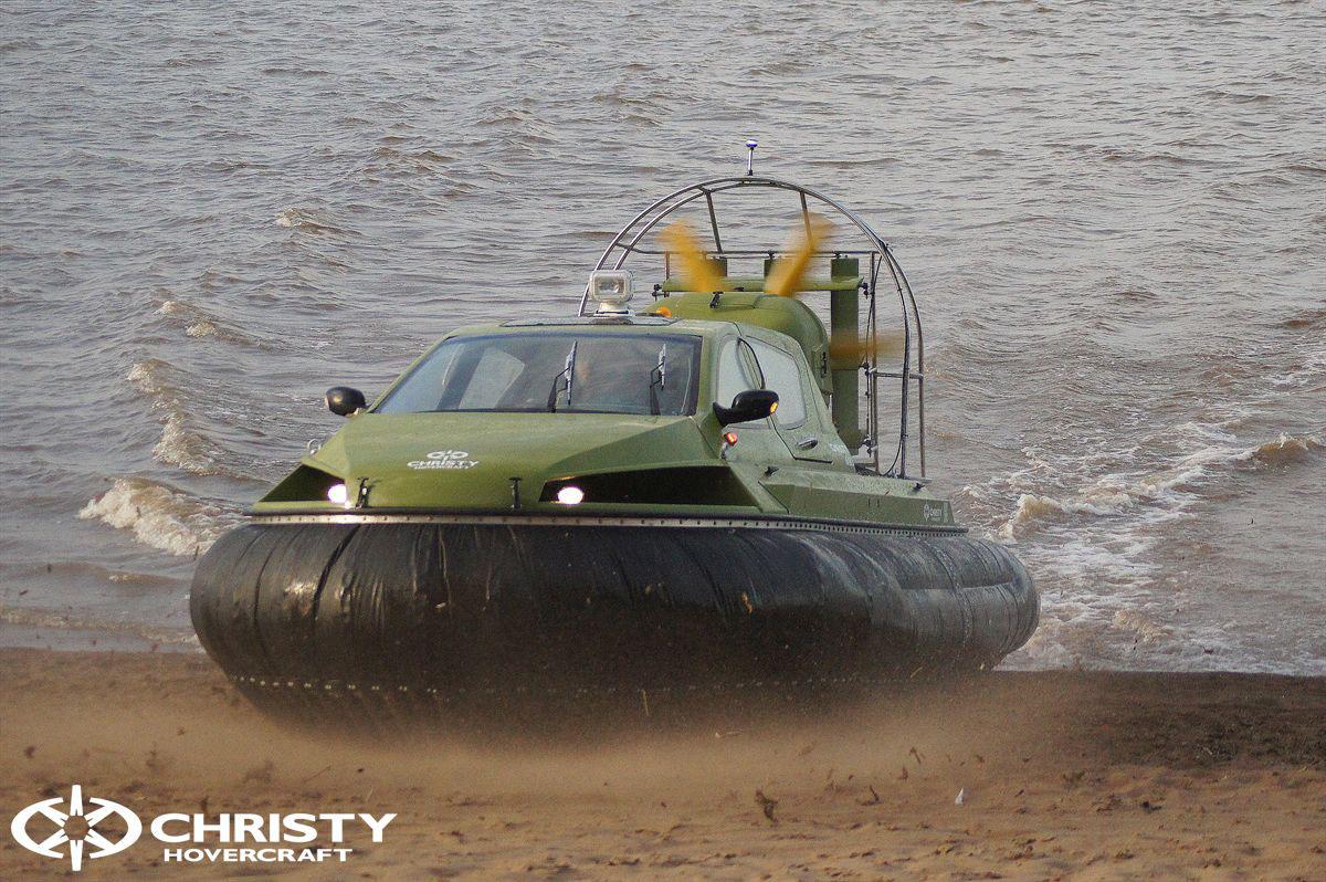 Обновленный катер на воздушной подушке Christy 6183 - Лучшие фото | фото №31