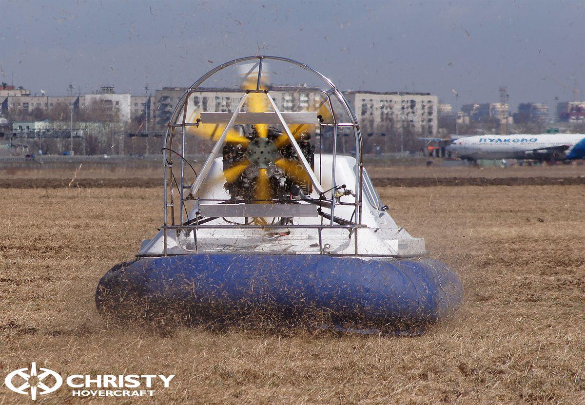 Обновленный катер на воздушной подушке Christy 6183 - Лучшие фото | фото №6