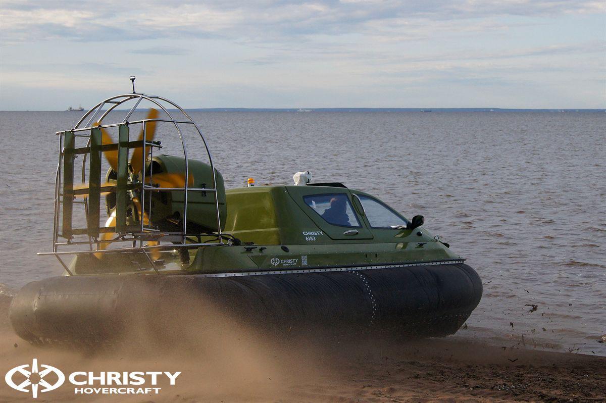 Обновленный катер на воздушной подушке Christy 6183 - Лучшие фото   фото №32