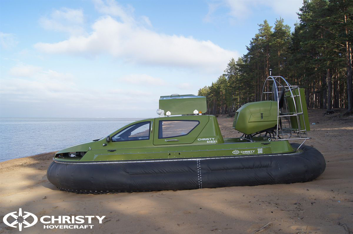Обновленный катер на воздушной подушке Christy 6183 - Лучшие фото | фото №1