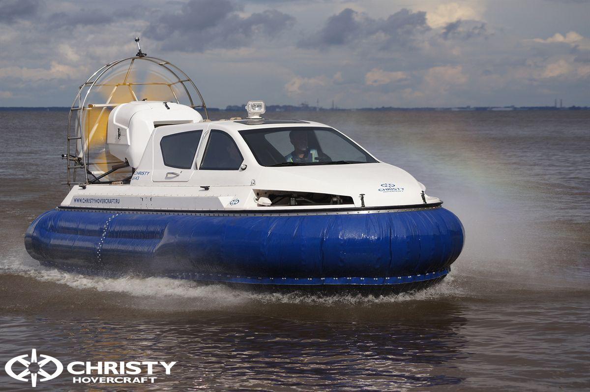 Обновленный катер на воздушной подушке Christy 6183 - Лучшие фото | фото №35