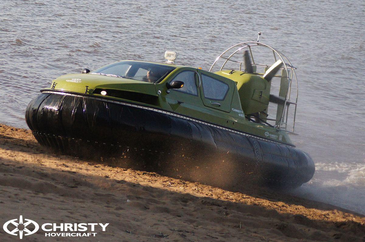 Обновленный катер на воздушной подушке Christy 6183 - Лучшие фото | фото №21