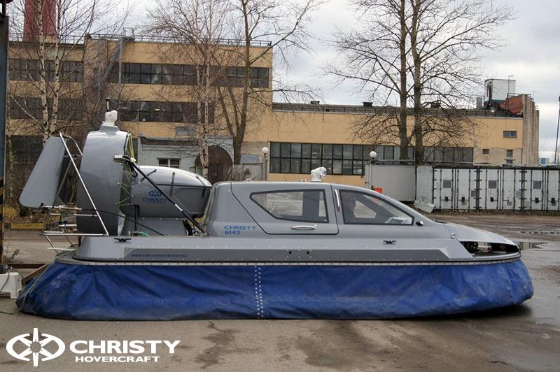 Катер на воздушной подушке Christy 6183 в различных вариантах цвета кузова | фото №14