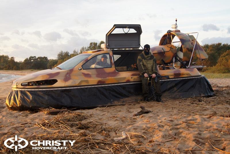 Катер на воздушной подушке Christy 6183 в различных вариантах цвета кузова | фото №3