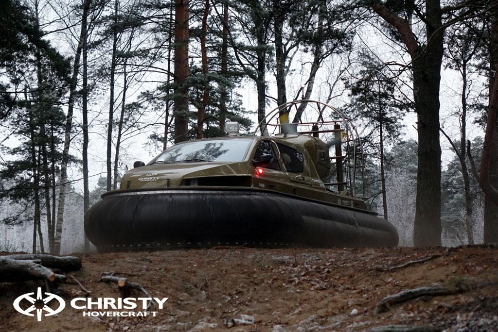 Обучение управлению судном Christy 6183 на льду | фото №1