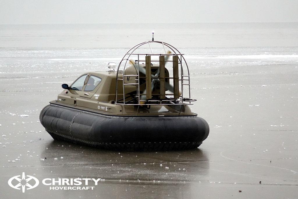 Обучение управлению судном Christy 6183 на льду | фото №4