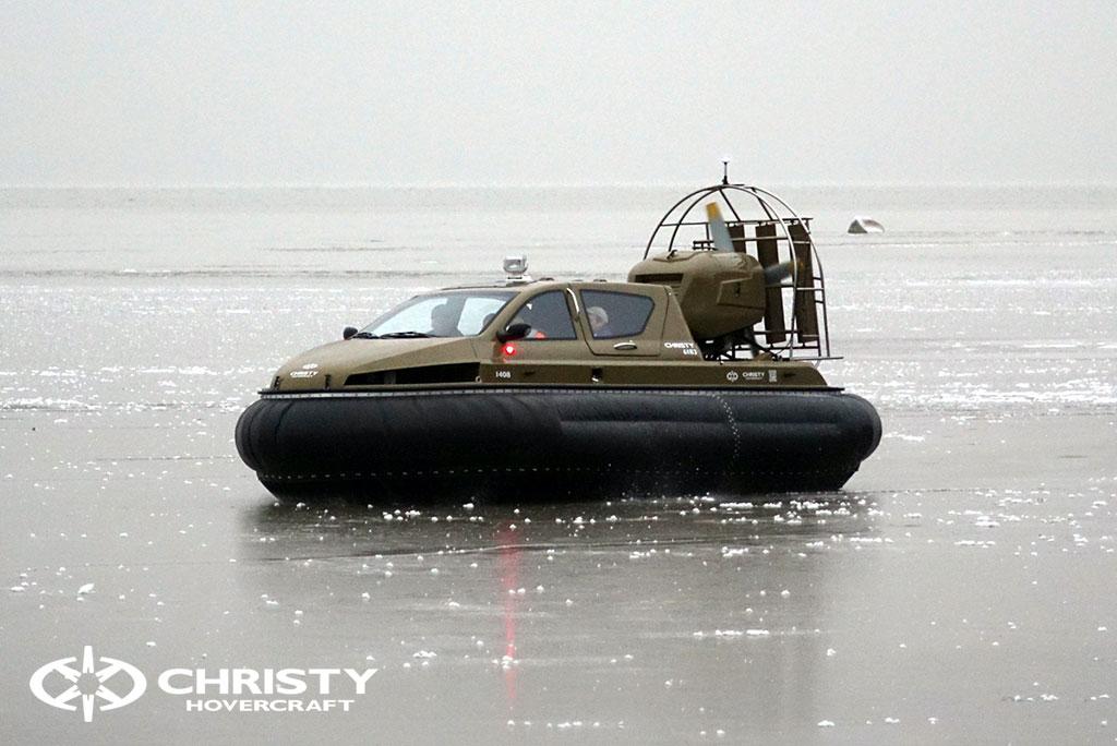 Обучение управлению судном Christy 6183 на льду | фото №5