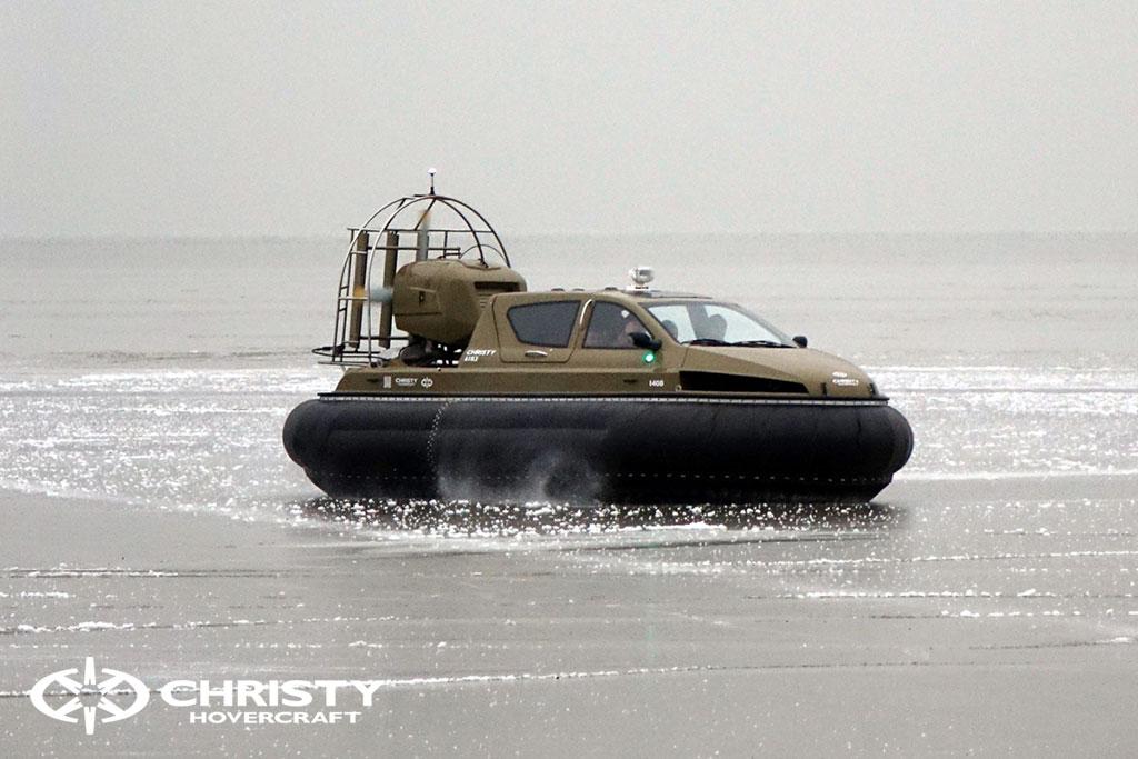 Обучение управлению судном Christy 6183 на льду | фото №6