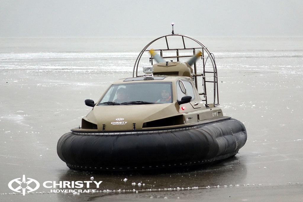 Обучение управлению судном Christy 6183 на льду | фото №8