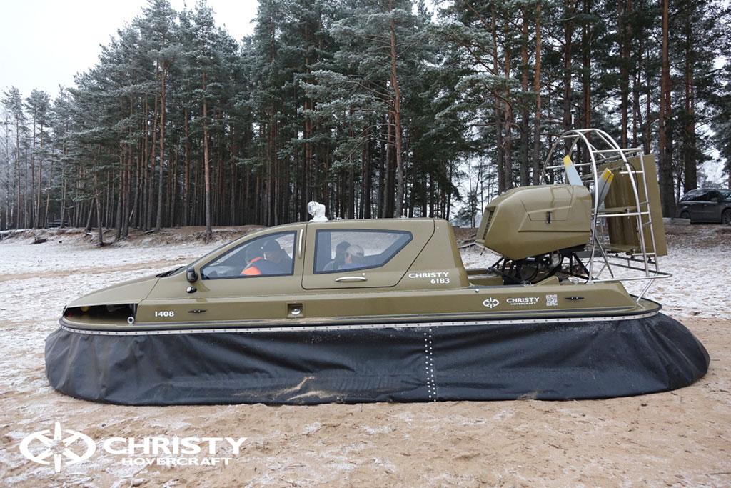 Обучение управлению судном Christy 6183 на льду | фото №15