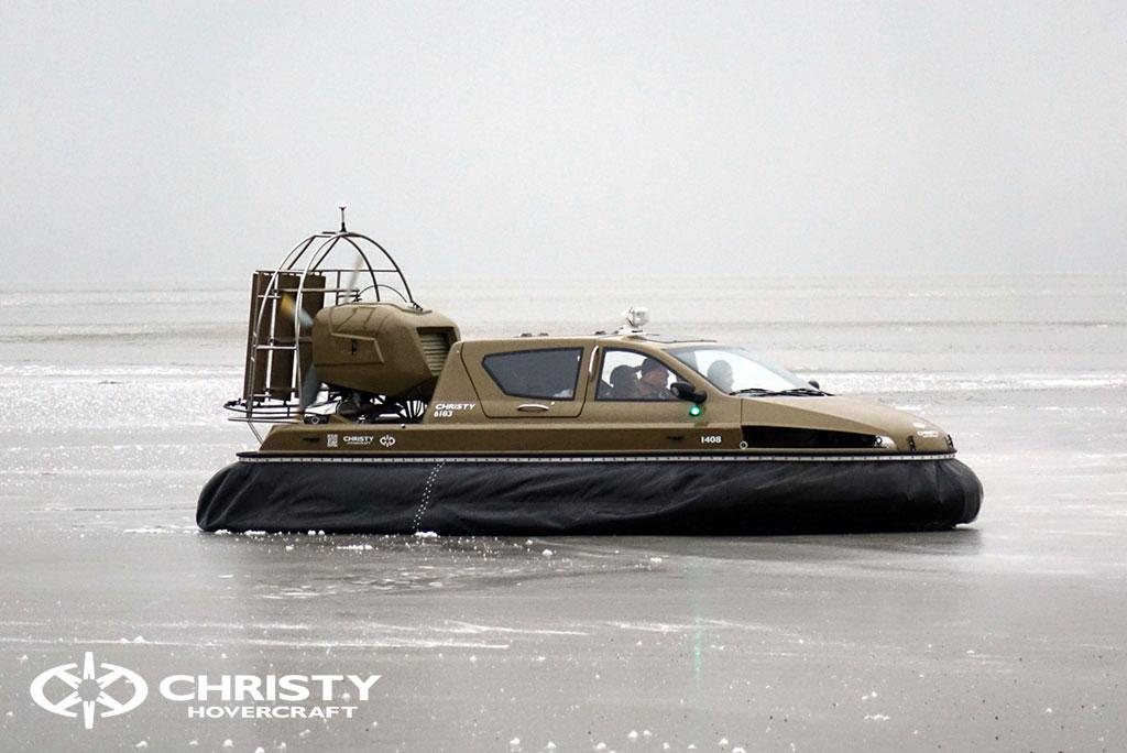 Обучение управлению судном Christy 6183 на льду | фото №19