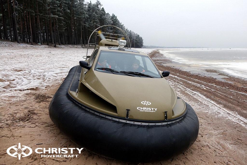 Обучение управлению судном Christy 6183 на льду | фото №28