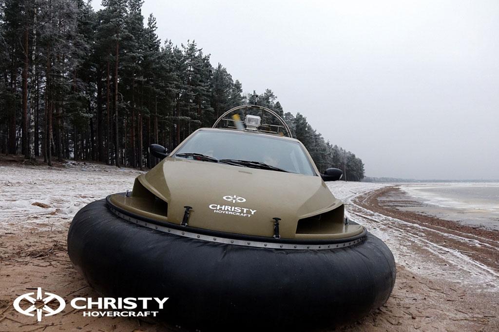 Обучение управлению судном Christy 6183 на льду | фото №29