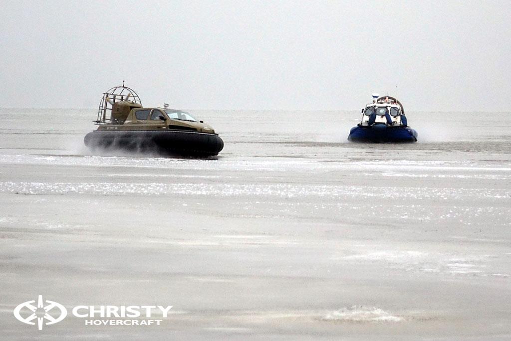 Обучение управлению судном Christy 6183 на льду | фото №33