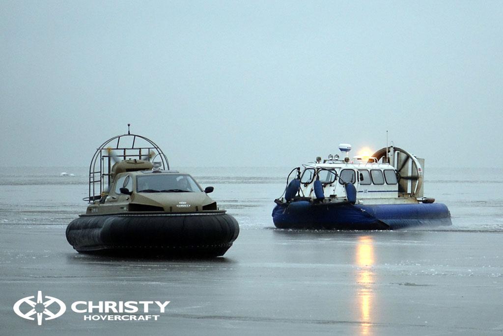 Обучение управлению судном Christy 6183 на льду | фото №34