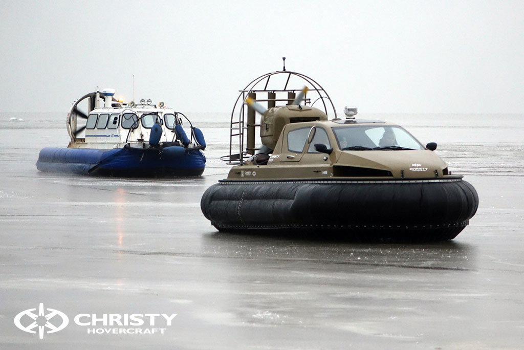 Обучение управлению судном Christy 6183 на льду | фото №35
