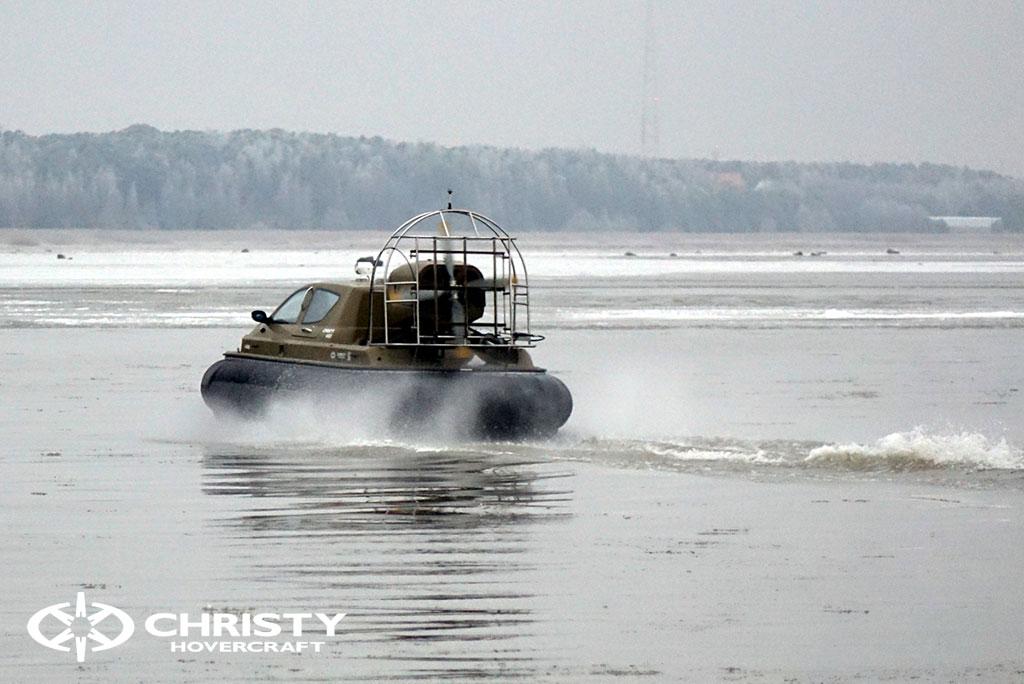 Обучение управлению судном Christy 6183 на льду | фото №36