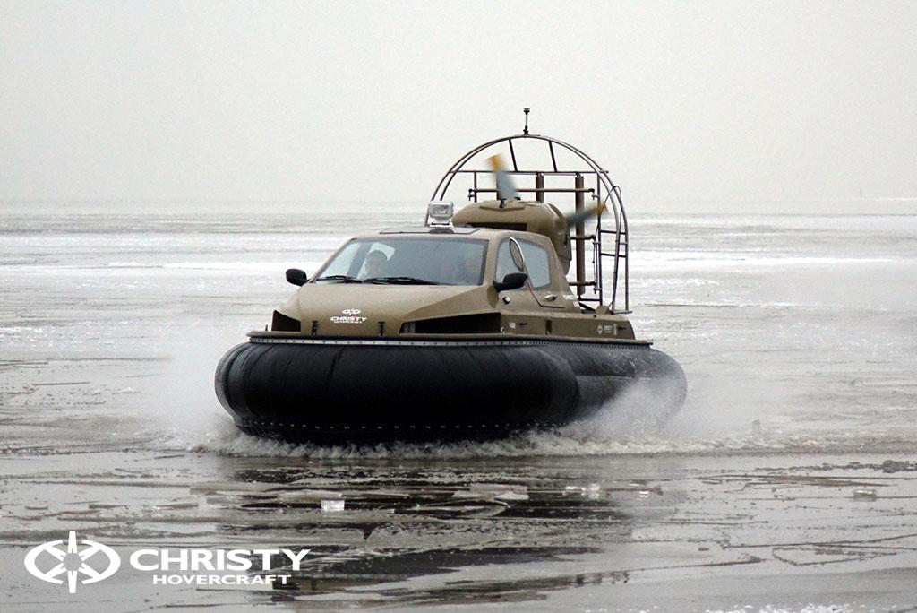 Обучение управлению судном Christy 6183 на льду | фото №40