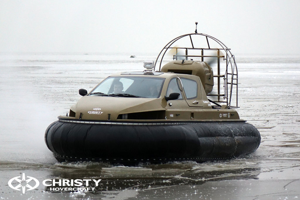 Обучение управлению судном Christy 6183 на льду | фото №41