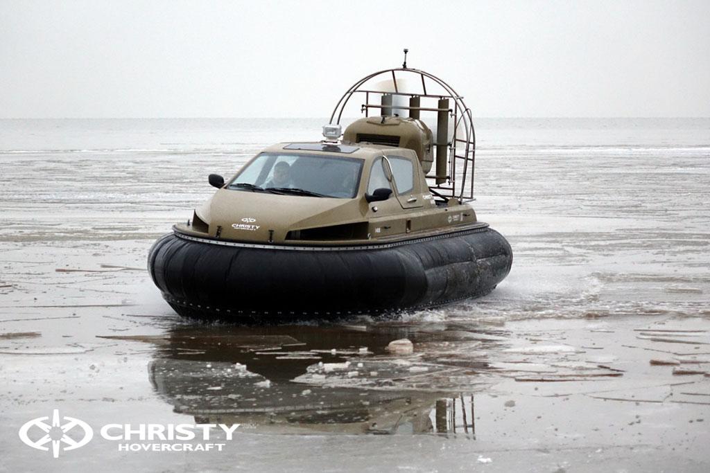 Обучение управлению судном Christy 6183 на льду | фото №43