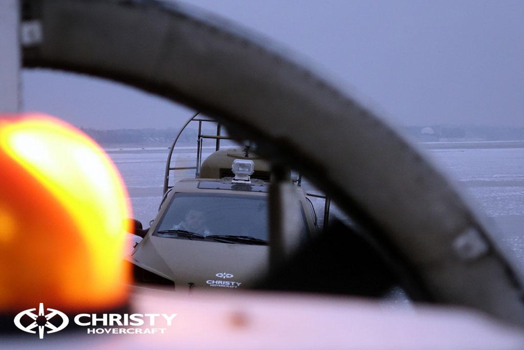 Обучение управлению судном Christy 6183 на льду | фото №45