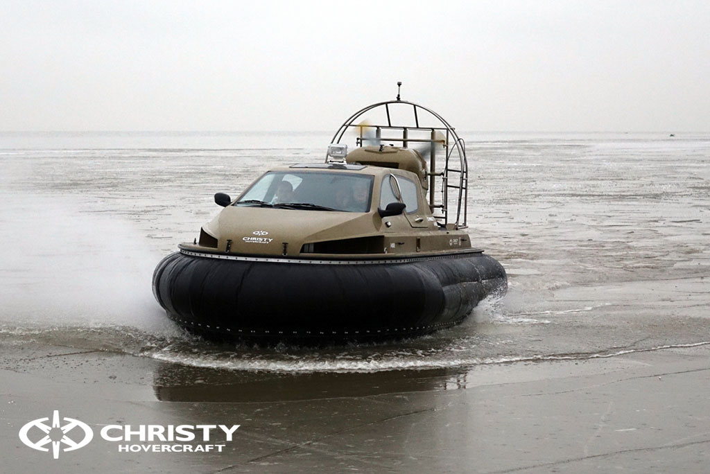 Обучение управлению судном Christy 6183 на льду | фото №48