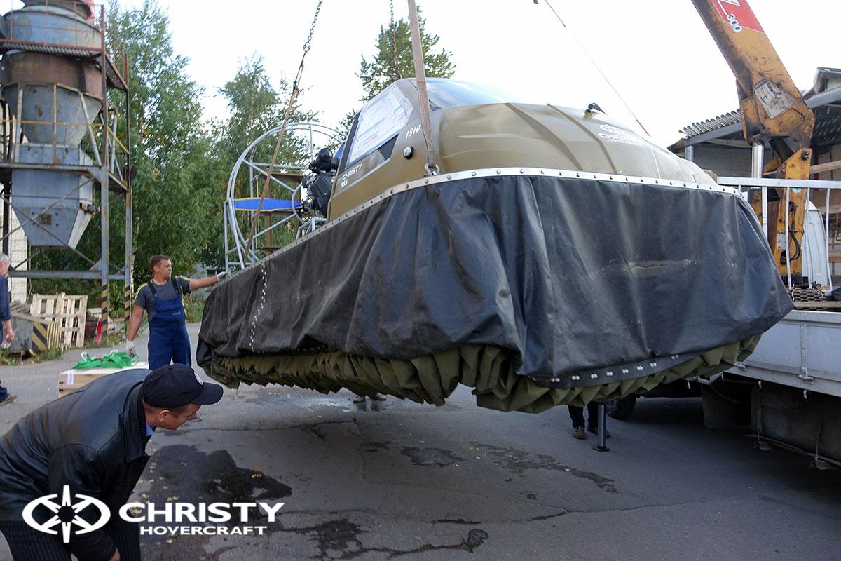 Тест драйв двух новых Christy 555 | фото №11