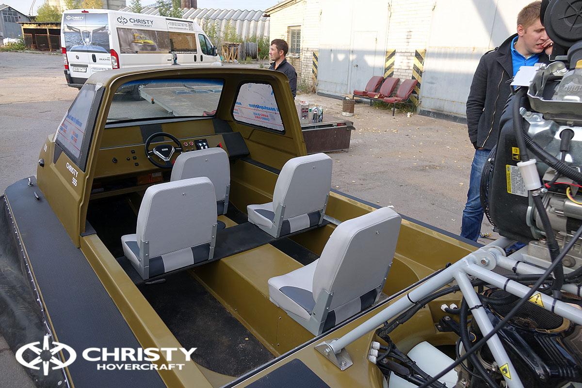 Тест драйв двух новых Christy 555 | фото №14