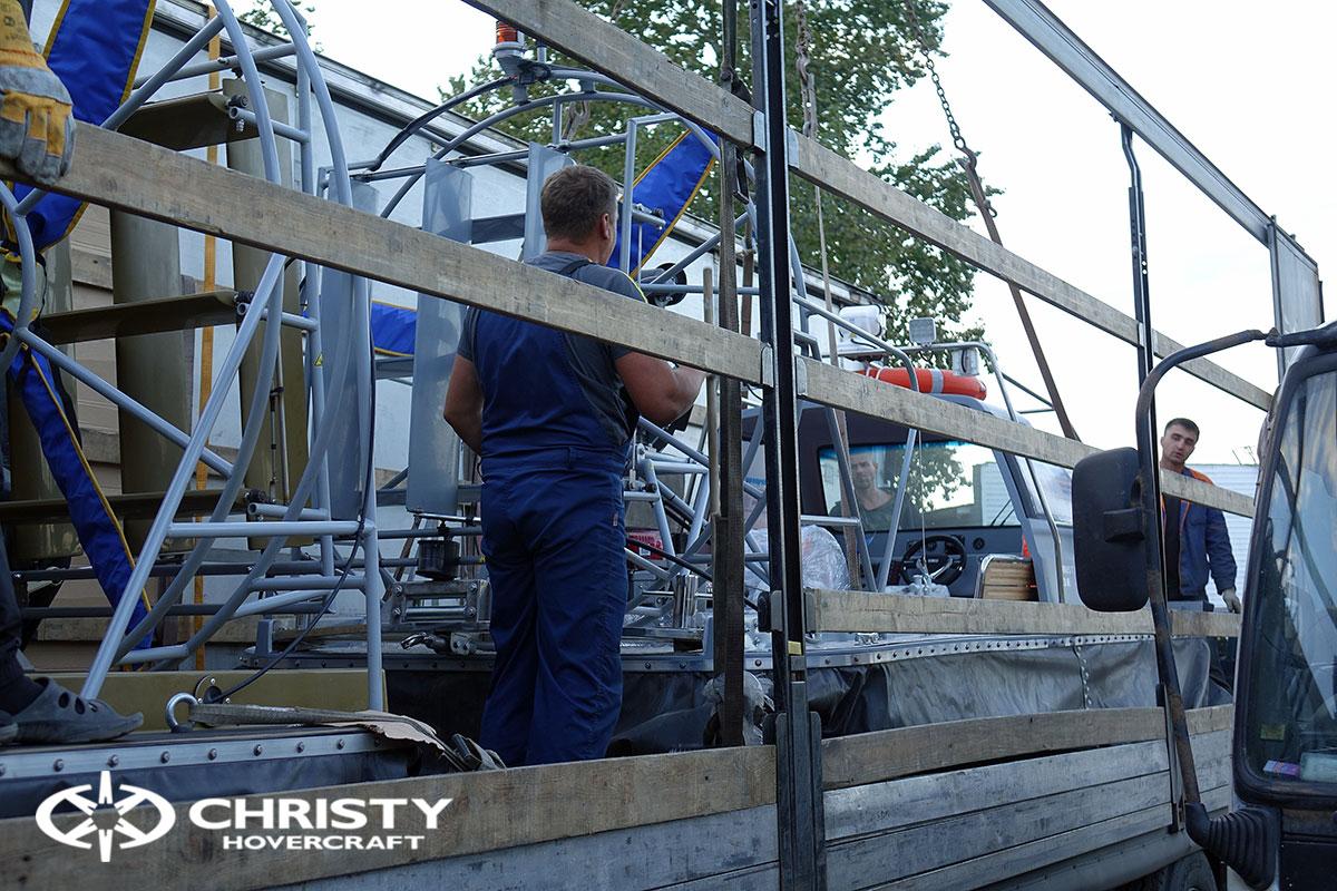 Тест драйв двух новых Christy 555 | фото №2