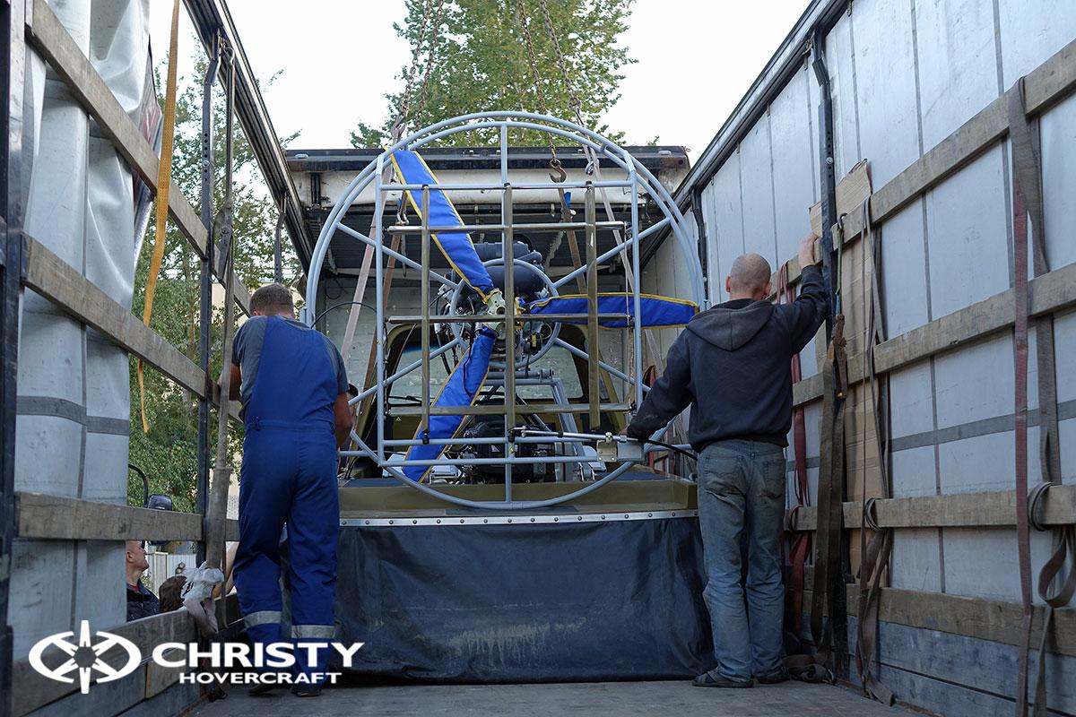 Тест драйв двух новых Christy 555 | фото №9