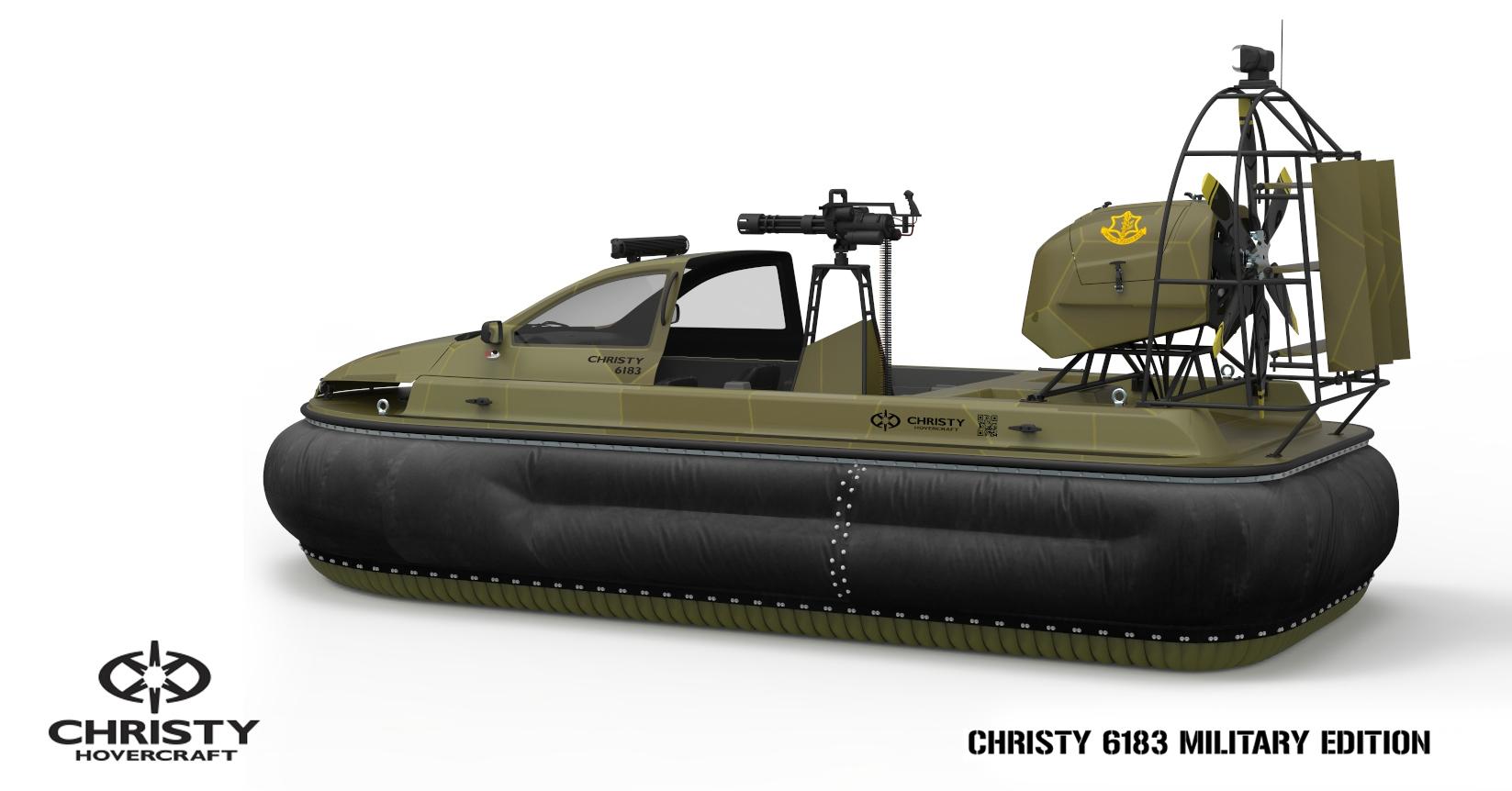 Специальные суда Christy Hovercraft | фото №18