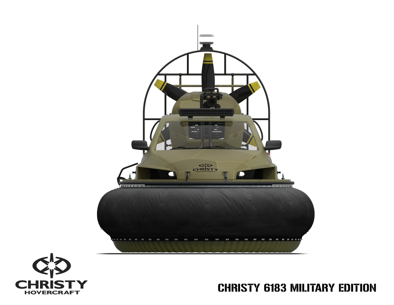 Специальные суда Christy Hovercraft | фото №23