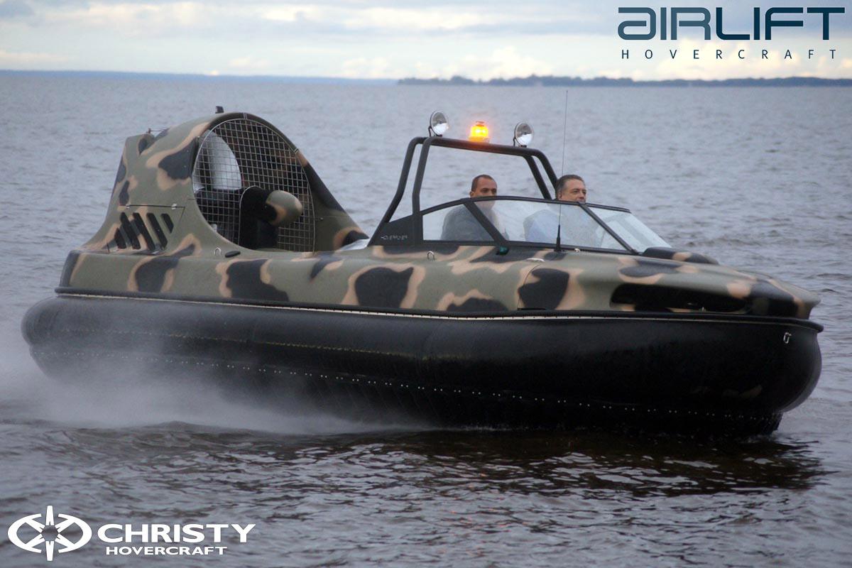 6-ти местный катер на воздушной подушке - HoverFlyer 580 | фото №20