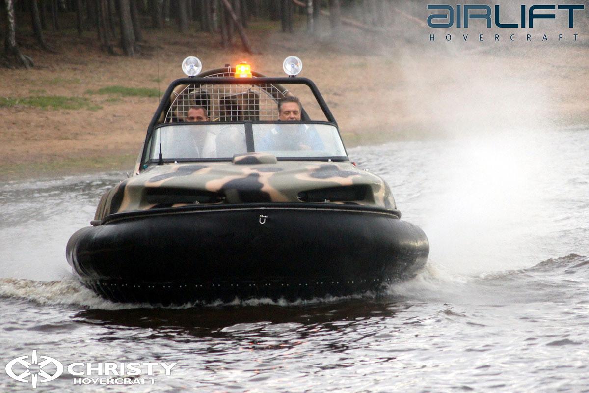 6-ти местный катер на воздушной подушке - HoverFlyer 580