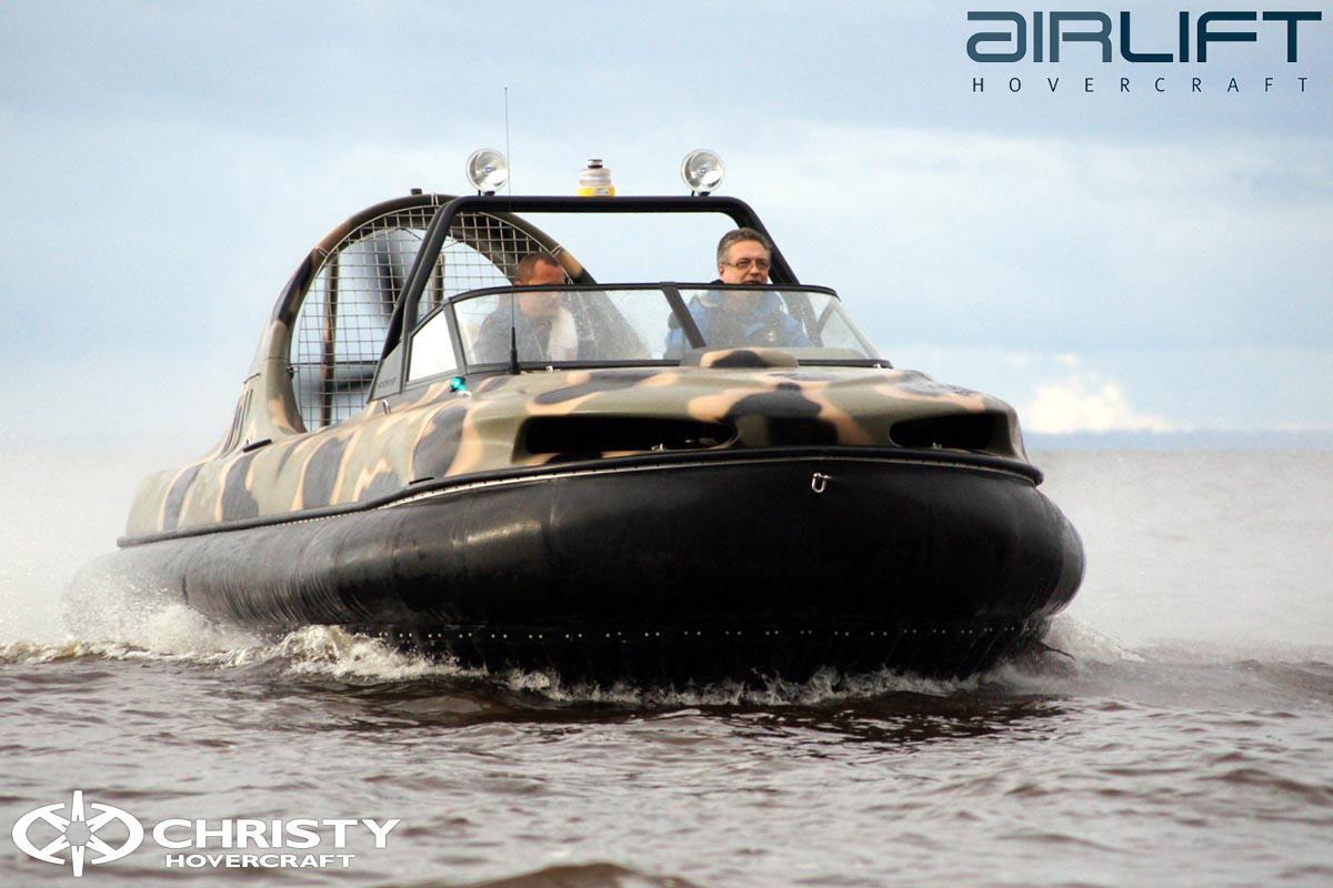 6-ти местный катер на воздушной подушке - HoverFlyer 580 | фото №31