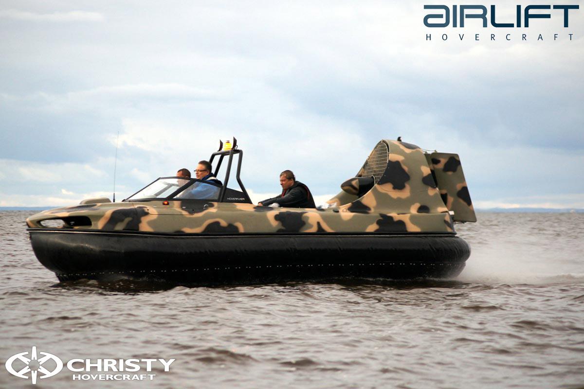 6-ти местный катер на воздушной подушке - HoverFlyer 580 | фото №33