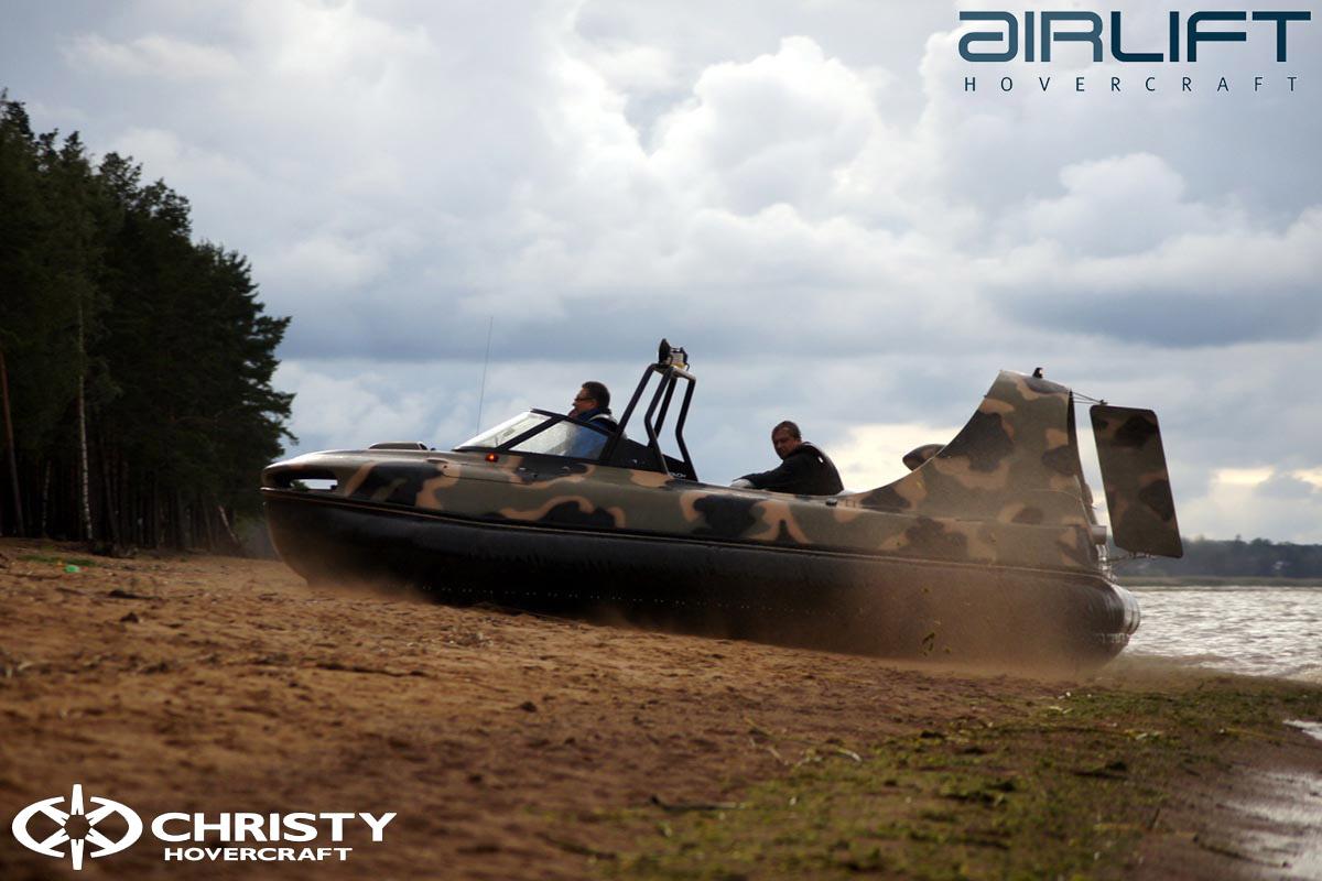 6-ти местный катер на воздушной подушке - HoverFlyer 580 | фото №34