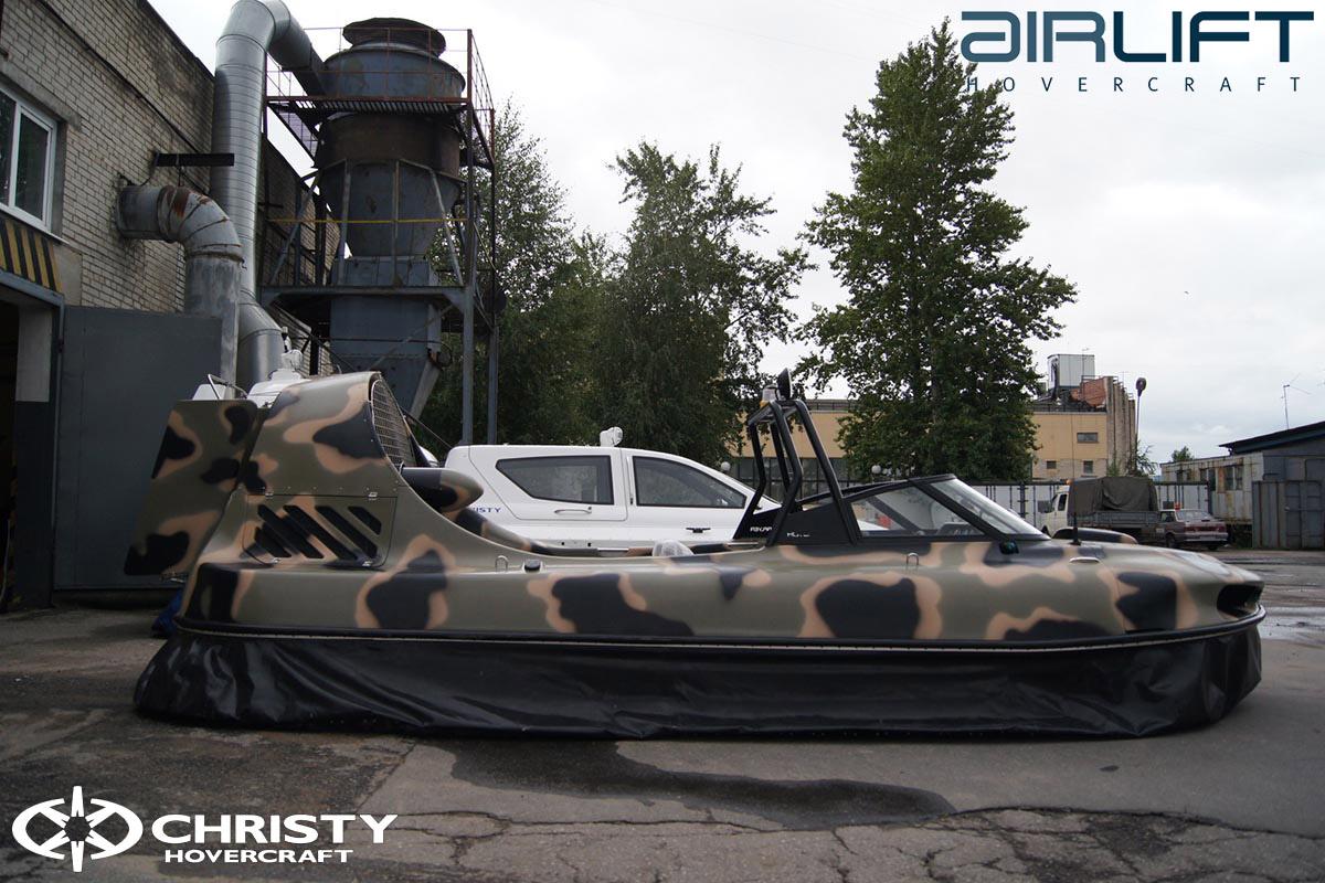 6-ти местный катер на воздушной подушке - HoverFlyer 580 | фото №36