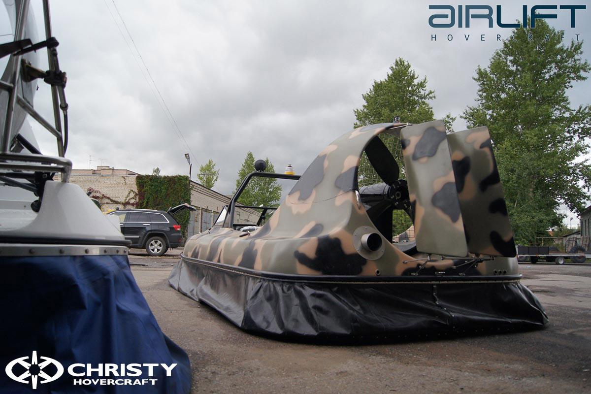 6-ти местный катер на воздушной подушке - HoverFlyer 580 | фото №40