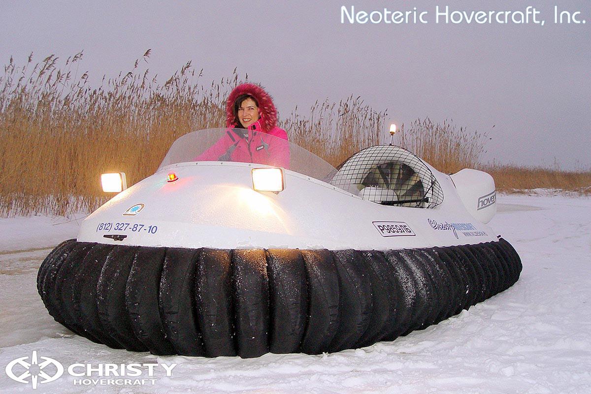 Катер на воздушной подушке Neoteric Hovertrek 455 (465) | фото №1