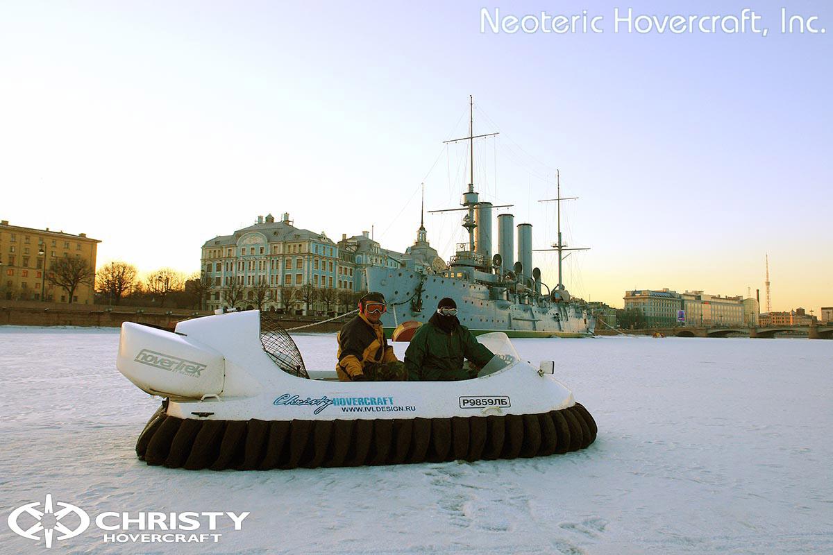Катер на воздушной подушке Neoteric Hovertrek 455 (465) | фото №22