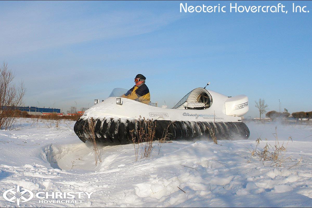 Катер на воздушной подушке Neoteric Hovertrek 455 (465) | фото №38