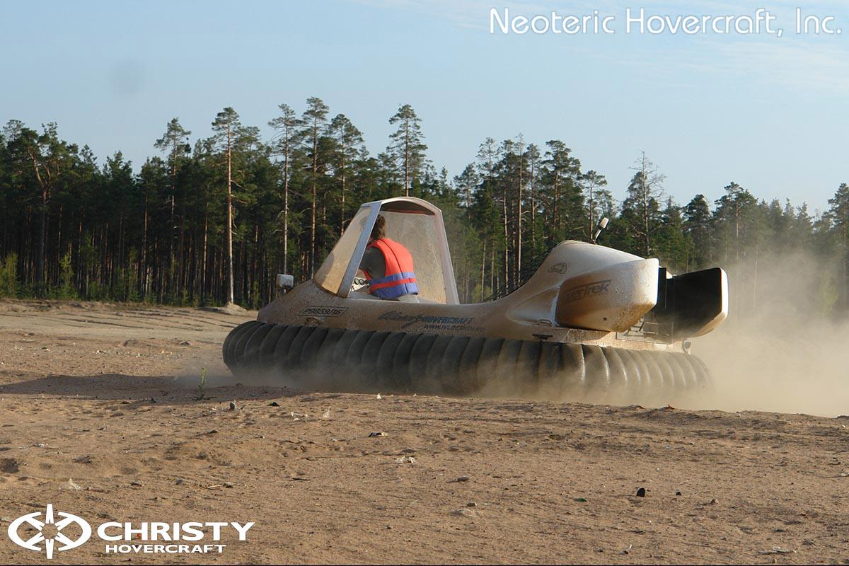 Катер на воздушной подушке Neoteric Hovertrek 455 (465) | фото №42