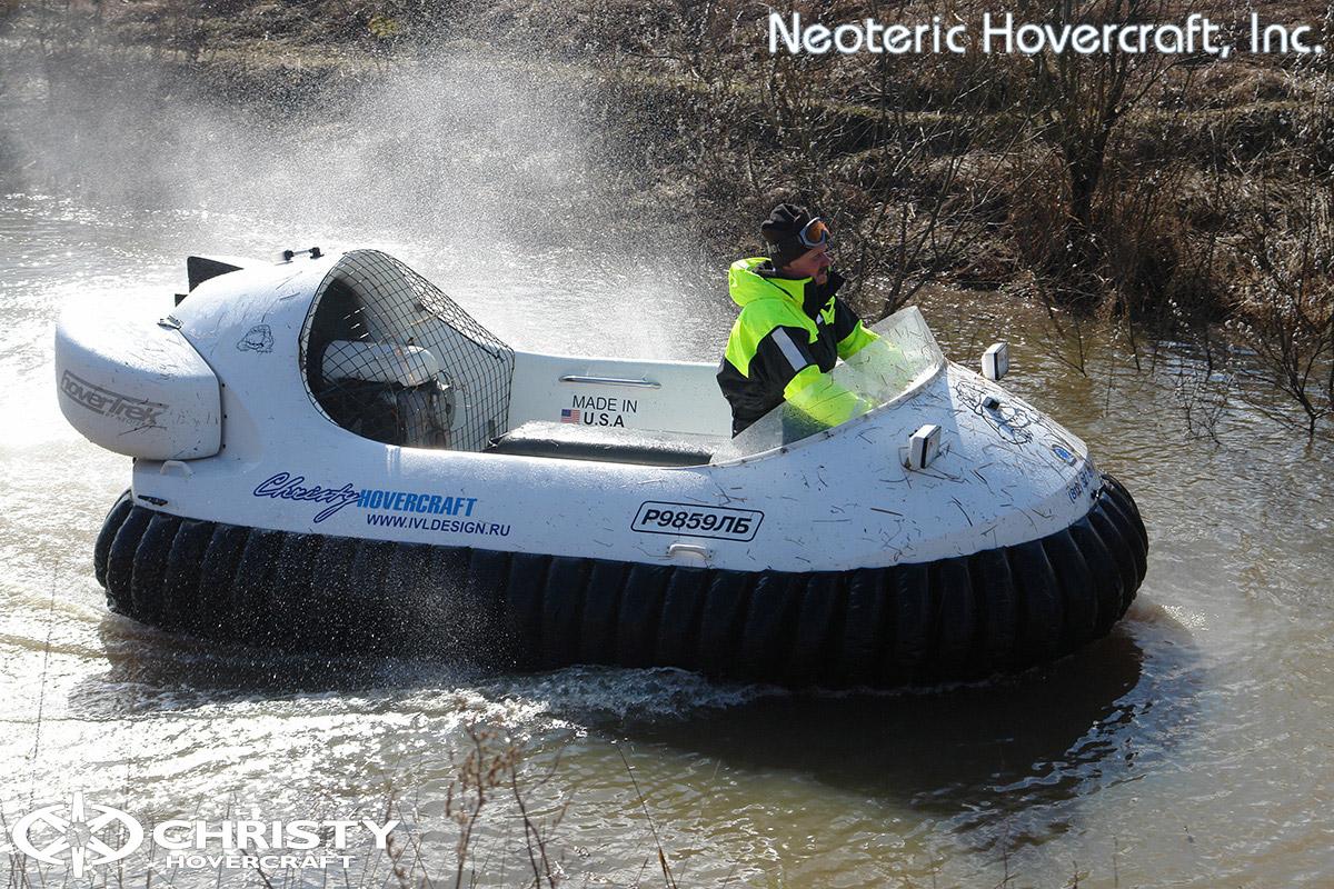 Катер на воздушной подушке Neoteric Hovertrek 455 (465) | фото №11