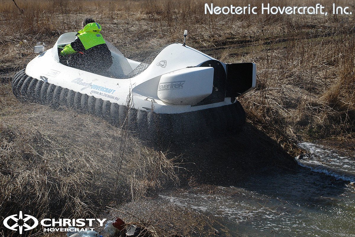 Катер на воздушной подушке Neoteric Hovertrek 455 (465) | фото №20