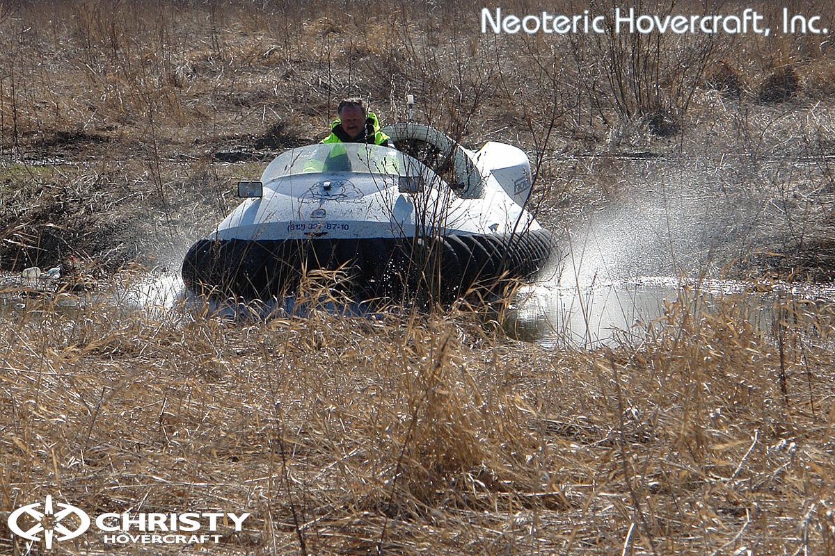 Катер на воздушной подушке Neoteric Hovertrek 455 (465) | фото №10