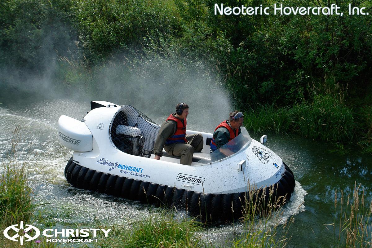 Катер на воздушной подушке Neoteric Hovertrek 455 (465) | фото №35