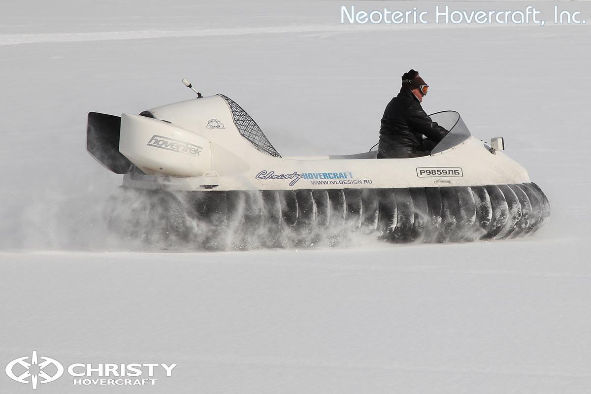 Катер на воздушной подушке Neoteric Hovertrek 455 (465) | фото №37